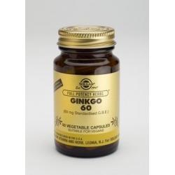 Solgar Ginkgo 60 mg 60 κάψουλες
