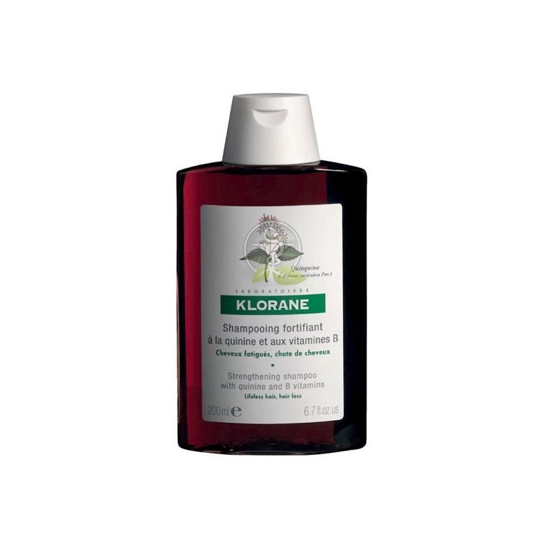 Klorane Quinine Σαμπουάν Κατά της Τριχόπτωσης Με Κινίνη 200ml