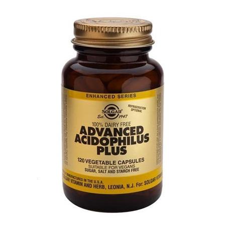 Solgar Advanced Acidophilus Plus veg caps 120 κάψουλες