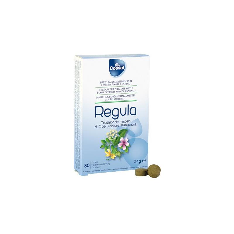 Cosval Regula Φυτικό Καθαρτικό Σε Ταμπλέτες 30tabs