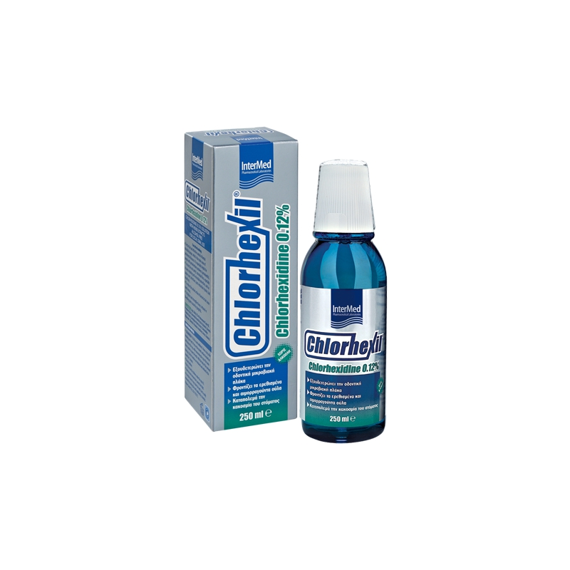 Intermed Chlorhexil 0.12% Στοματικό Διάλυμα 250ml