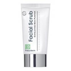 Frezyderm Facial Scrub Απαλό και δροσερό gel απολέπισης 100ml