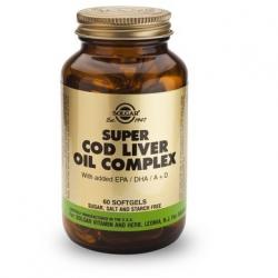 Solgar Super Cod Liver Oil Complex 60's