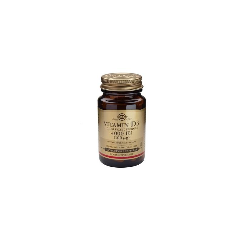 Solgar Vitamin D3 4000iu 60's