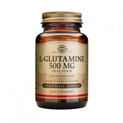 Solgar L-Glutamine 500mg 50's veg. caps