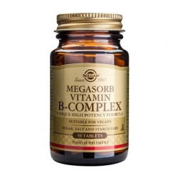 Solgar Megasorb Vitamin B-Complex ''50'' 50 κάψουλες