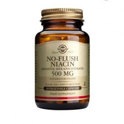 Solgar No-Flush Niacin 500mg 50's