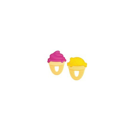 Chicco Δροσιστικός Κρίκος Οδοντοφυΐας Παγωτό Κιτρινο 6+ 1τμχ