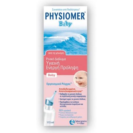 Physiomer Baby 115ml Ρινικό Διάλυμα Από τη Γέννηση