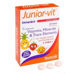 Healthaid Junior-Vit chewable 30 μασώμενα δισκία