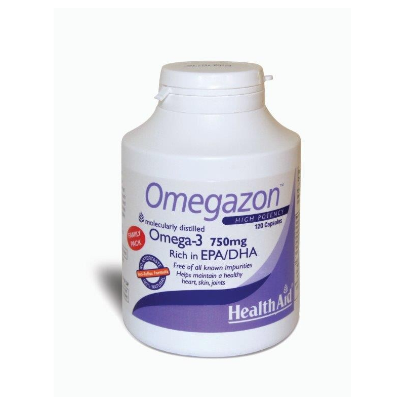 Healthaid Omegazon Family pack 120caps