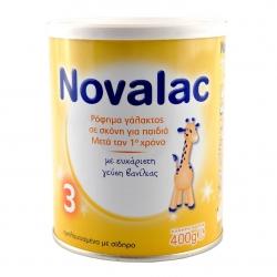 Novalac 3 Γάλα από τον 12ο μήνα 400gr