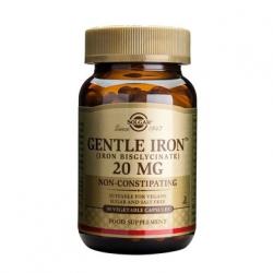 Solgar Gentle Iron 20mg Σίδηρος 90 κάψουλες