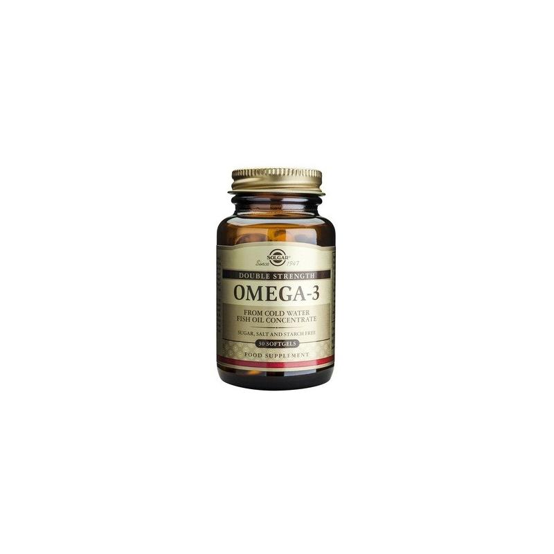 Solgar Omega 3 Double Strength 30 κάψουλες