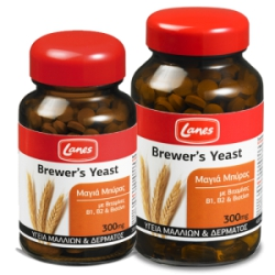 Lanes Μαγιά Μπύρας Brewers Yeast 200's