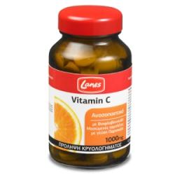 Lanes Vitamin C 1000mg 60 ταμπλέτες