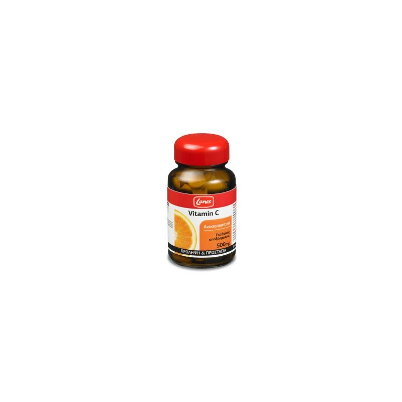 Lanes Βιταμίνη C 500mg 30's