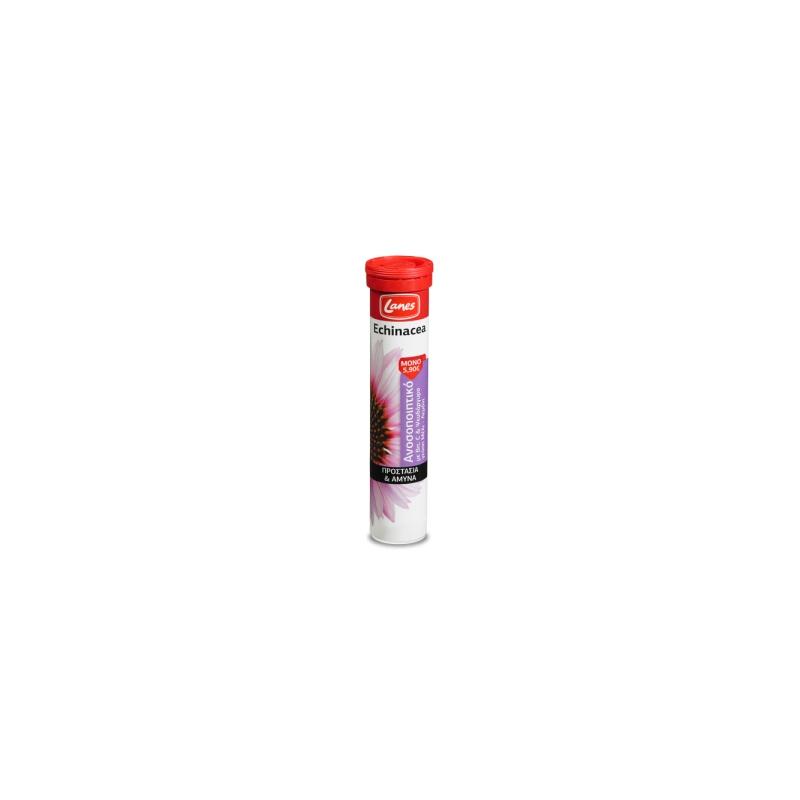 Lanes Echinacea με Βιταμίνη C 20's Μέλι-Λεμόνι