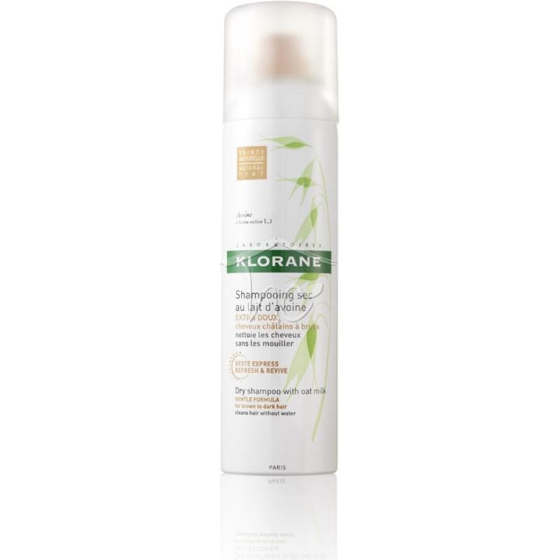 Klorane Dry Shampoo Ξηρό Σαμπουάν Για Καστανά Μαύρα Μαλλιά 150ml