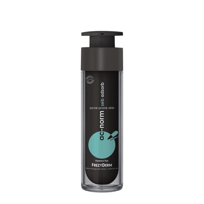 Frezyderm Ac-Norm Seb Adsorb Εξειδικευμένη κρέμα κατά της γυαλάδας 50ml