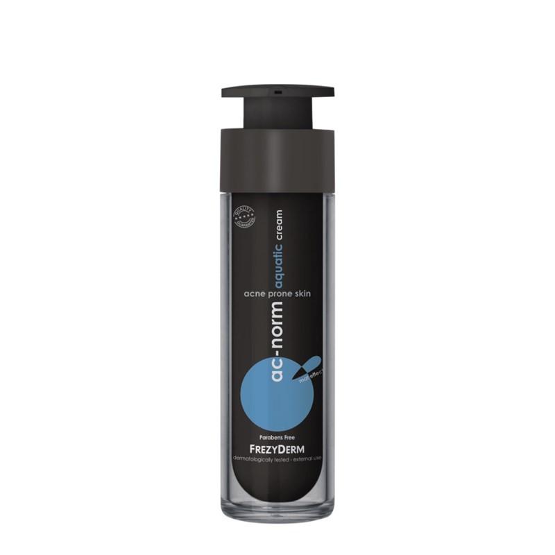 Frezyderm Ac-Norm Aquatic Cream Ενυδατική κρέμα για την ήπια, μέτρια και σοβαρή ακμή 50ml