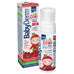 Babyderm Junior Cran 150ml με αντλία