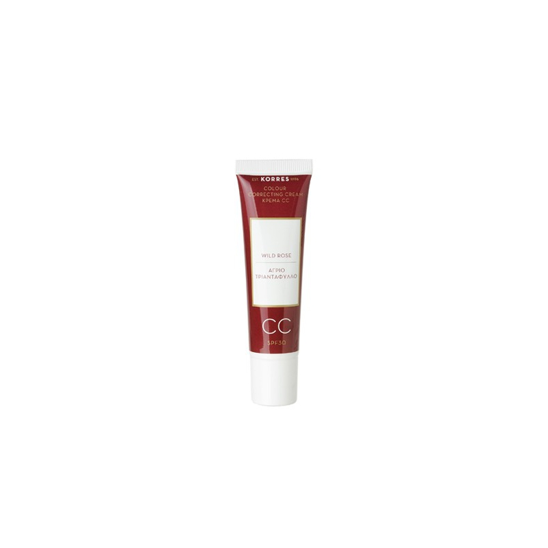Korres Άγριο Τριαντάφυλλο Colour Correcting Cream Light SPF30 30ml