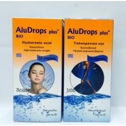AluDrops Plus Bio  Βιοσυνθετικό Υαλουρονικό Οξύ 100ml