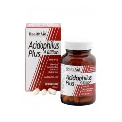 Health Aid Acidophilus Plus 4 billion 60 κάψουλες
