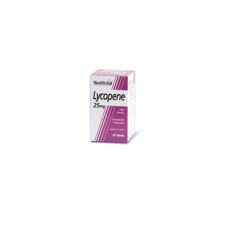 Health Aid Lycopene 25mg 30 tabs