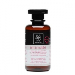 Apivita Intimate Plus Απαλό Gel Καθαρισμού για την Ευαίσθητη Περιοχή πρόπολη & τεϊόδεντρο 200ml