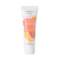 Korres Mask Grapefruit Μάσκα άμεσης λάμψης 18 ml
