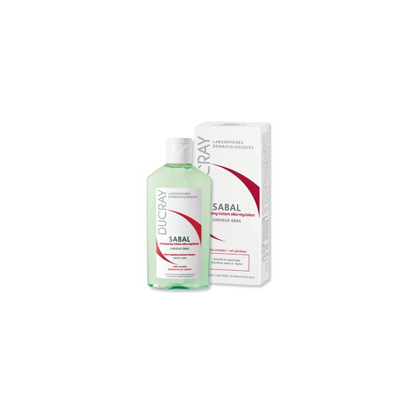 Ducray Sabal Shampoo 200ml Σμηγματορυθμιστικό Σαμπουάν