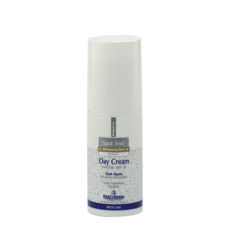 Frezyderm Spot End Day Λευκαντική κρέμα ημέρας προσώπου με 15spf 50 ml