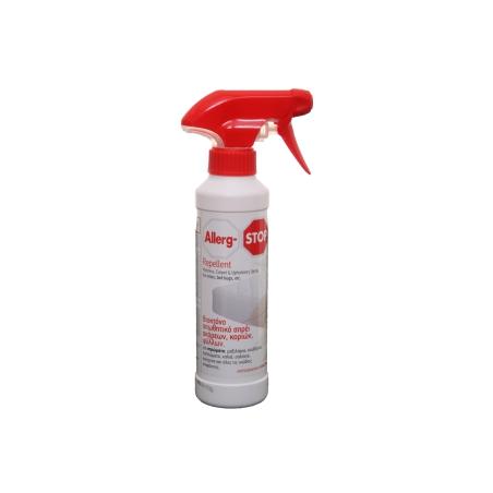 Allerg-Stop Repellent Εγκεκριμένο Βιοκτόνο απωθητικό σπρέι ακάρεων, κοριών και ψύλλων 250ml