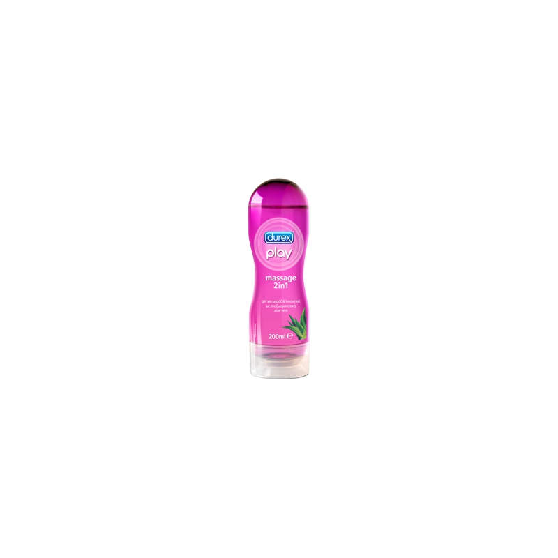 DUREX PLAY MASSAGE ALOE VERA, 200ml