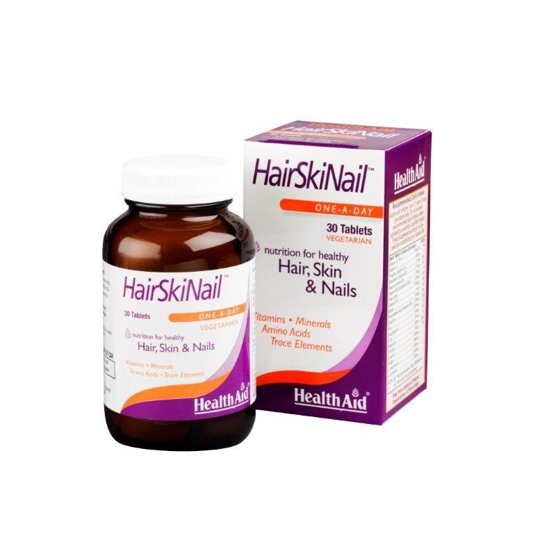 Health Aid Hair Skin & Nail 30 ταμπλέτες