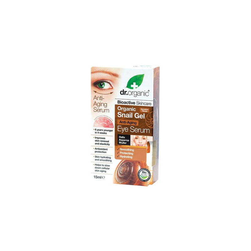 Dr. Organic Snail Gel Eye Serum 15ml