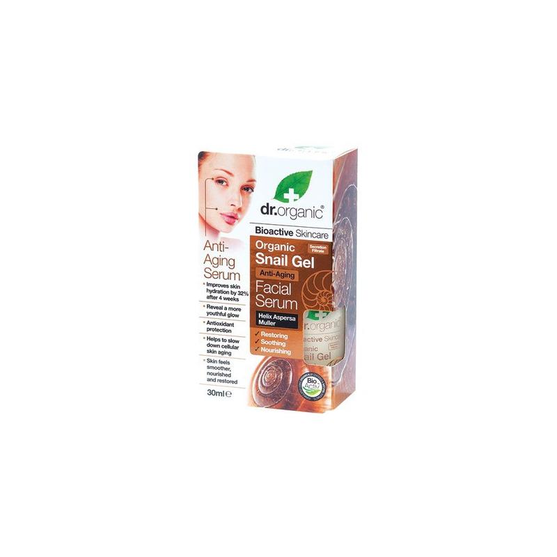 Dr. Organic Snail Gel Facial Serum 30ml