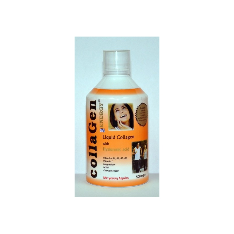Medichrom Collagen Energy with Hyaluronic Acid Γεύση Φράουλα 500ml