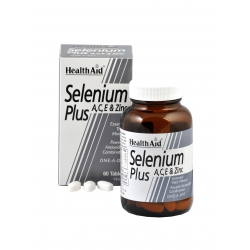 HealthAid Selenium Plus 200μg A,C,E & Zinc 60tabs