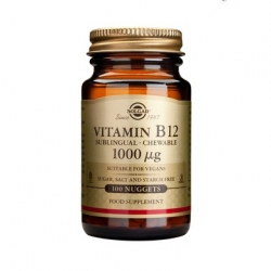 Solgar Vitamin B-12 1000ug 100 Nuggets