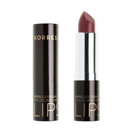 Korres Morello Creamy Lipstick No 23 Φυσικό Μωβ 3.5gr