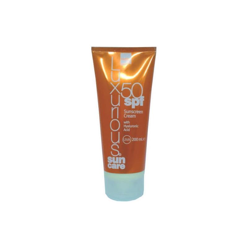 Luxurious Sun Care Body Cream 50SPF 200ml