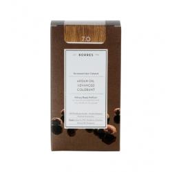 Korres Argan Oil Advanced Colorant 7.0 Ξανθό Φυσικό 50ml
