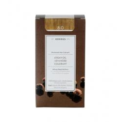 Korres Argan Oil Advanced Colorant 8.0 Ξανθό Ανοιχτό Φυσικό 50ml