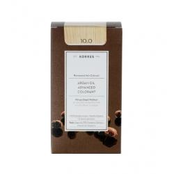 Korres Argan Oil Advanced Colorant 10.0 Ξανθό Πλατίνας Φυσικό 50ml