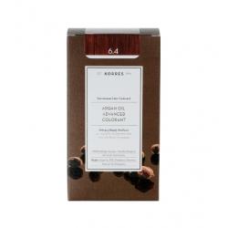 Korres Argan Oil Advanced Colorant 6.4 Ξανθό Σκούρο Χάλκινο 50ml