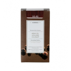 Korres Argan Oil Advanced Colorant 66.46 Έντονο Κόκκινο Βουργουνδίας 50ml