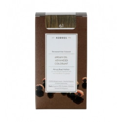 Korres Argan Oil Advanced Colorant 6.1 Ξανθό Σκούρο Σαντρέ 50ml
